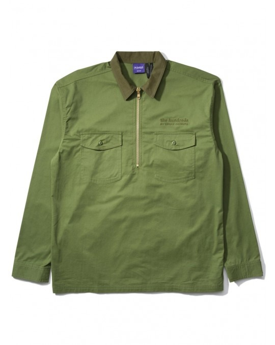 The Hundreds By Anwar Carrots House Jacket - Olive