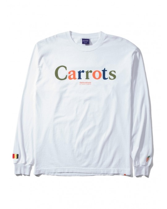 The Hundreds By Anwar Carrots Carrots L/S T-Shirt - White