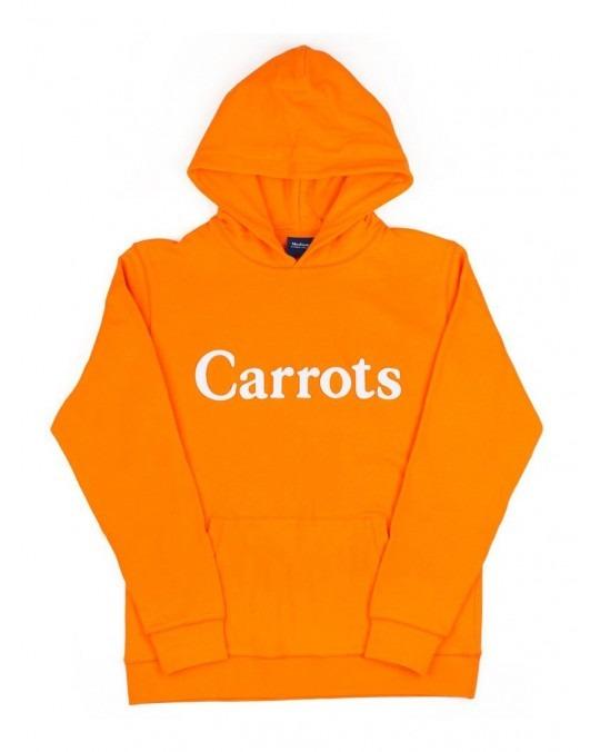 Carrots Wordmark Pullover Hoody - Orange