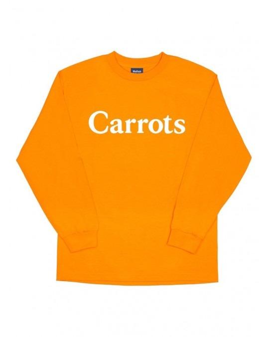 Carrots Wordmark Longsleeve T-Shirt - Orange