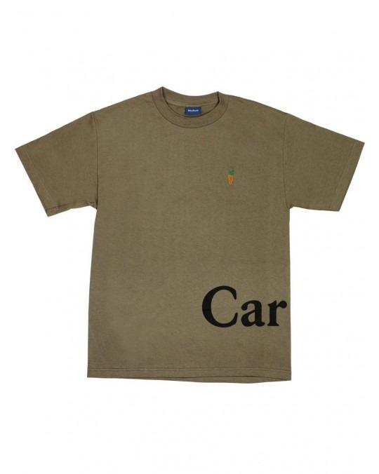 Carrots Logo Wordmark T-Shirt - Olive