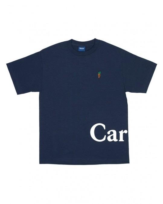 Carrots Logo Wordmark T-Shirt - Navy