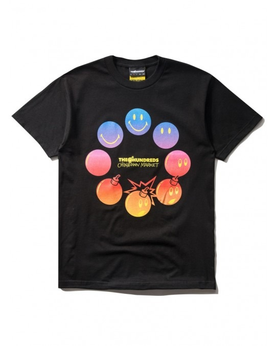 The Hundreds x Chinatown Market Cycle Adam T-Shirt - Black