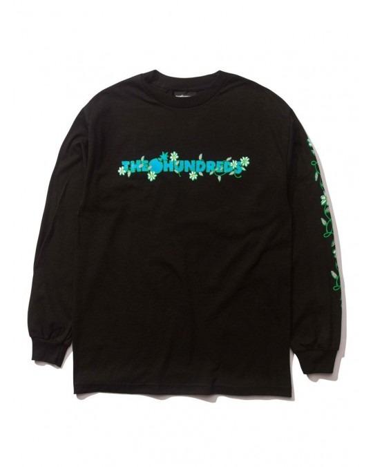 The Hundreds Daisy Bar L/S T-Shirt - Black