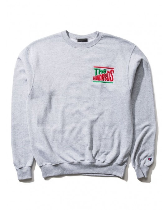 The Hundreds Dolly Champion Crewneck - Oxford Grey