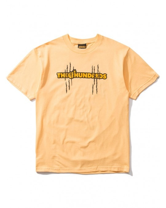 The Hundreds x Garfield Scratch T-Shirt - Squash