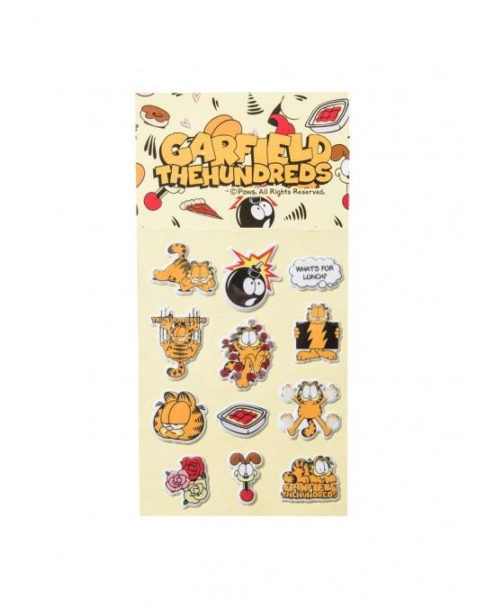 The Hundreds x Garfield Sticker Pack - Multi