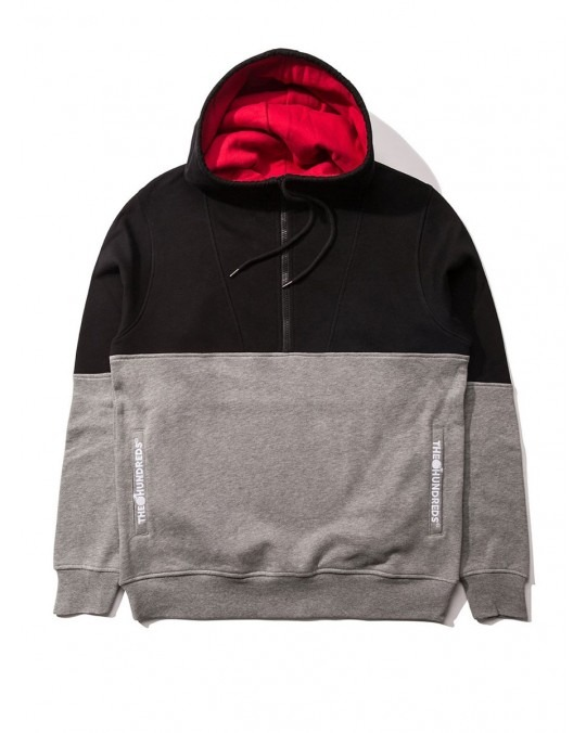 The Hundreds Lewis Pullover Hoody - Black