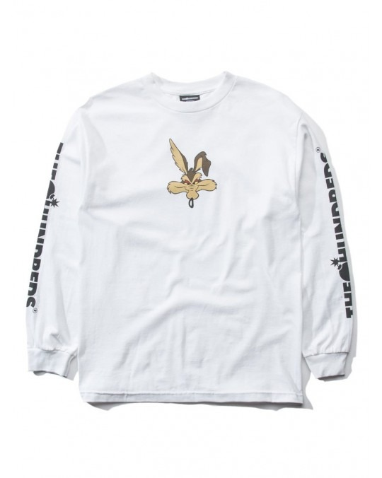 The Hundreds x Looney Tunes Wil-E L/S T-Shirt - White