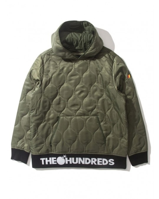 The Hundreds Militia Pullover Hoody - Olive
