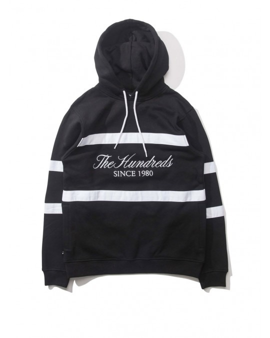 The Hundreds Palmer Pullover Hoody - Black