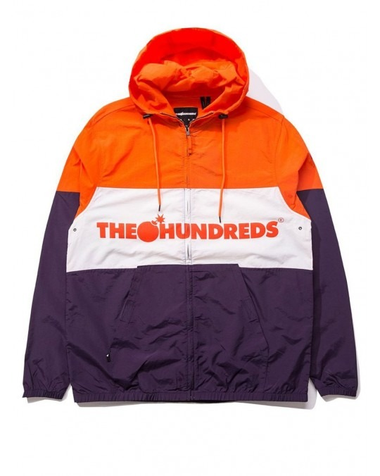 The Hundreds Port Jacket - Orange