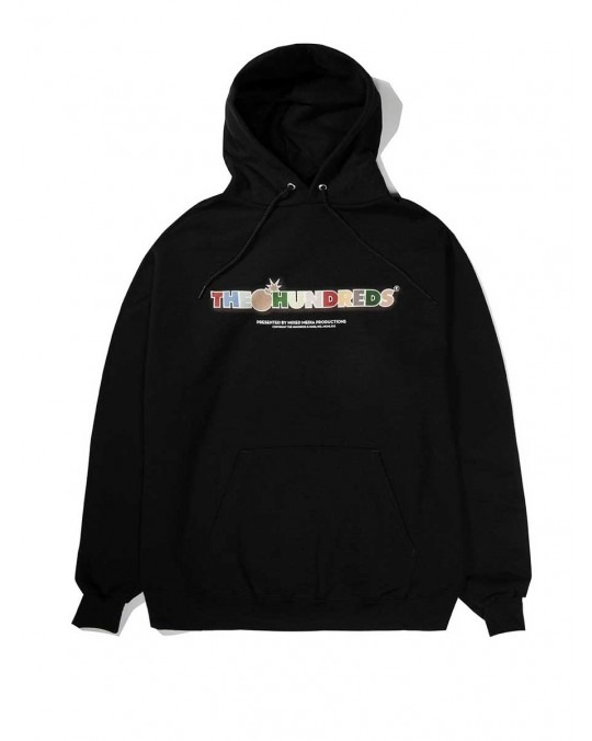The Hundreds Toon Bar Pullover Hoody - Black