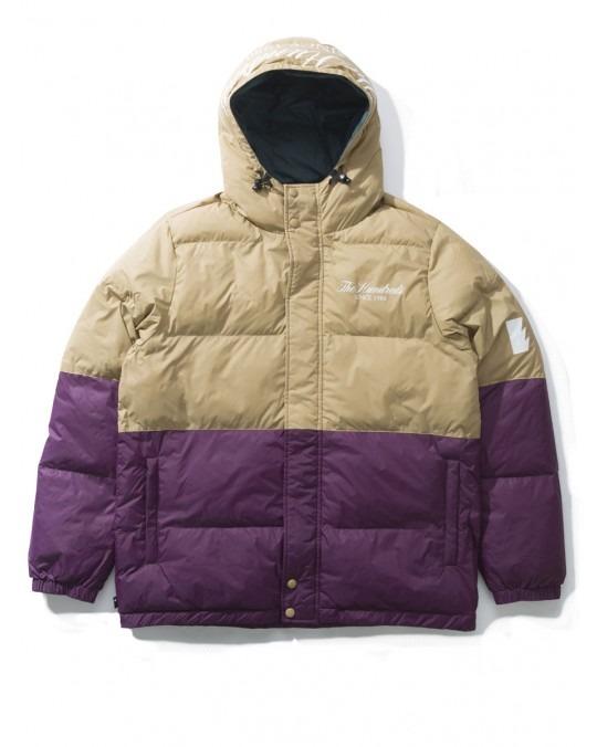 The Hundreds Wrightwood Puffer Jacket - Khaki