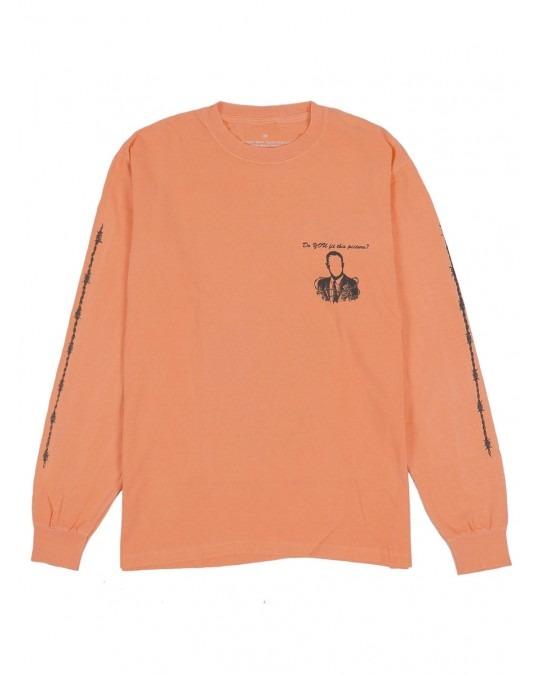 Jungles Jungles Get Help Now L/S T-Shirt - Melon