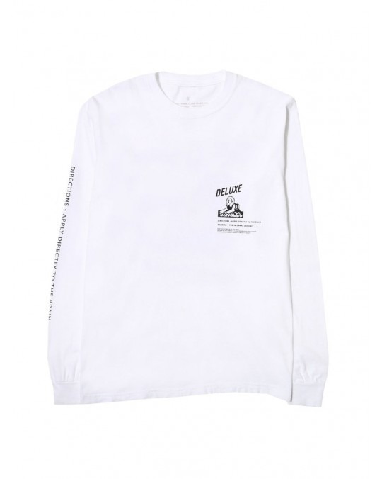 Jungles Jungles Mind Cleanser L/S T-Shirt - White