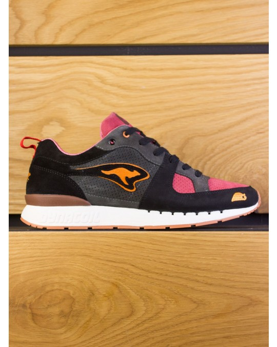 "KangaRoos Coil-R1 x SneakerBAAS ""Windmill Pack"" Dead Bird - Deadly Black Bloody Pink"