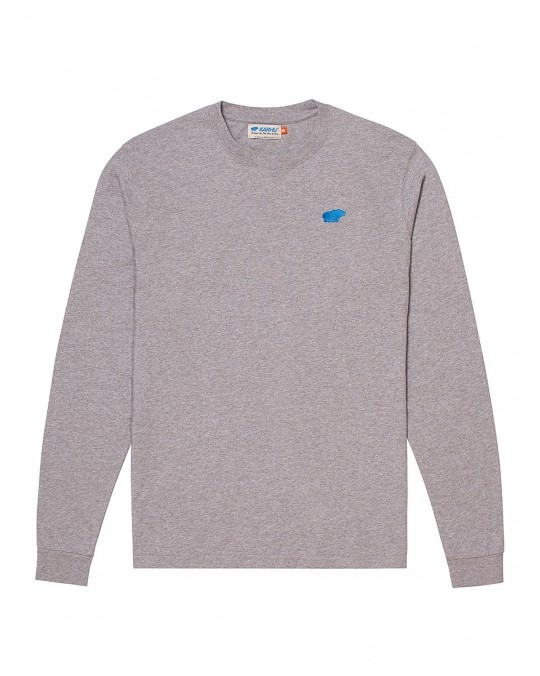 Karhu Air Cushion L/S T-Shirt - Heather Grey