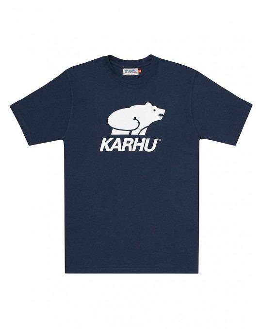 Karhu Basic Logo T-Shirt - Navy White