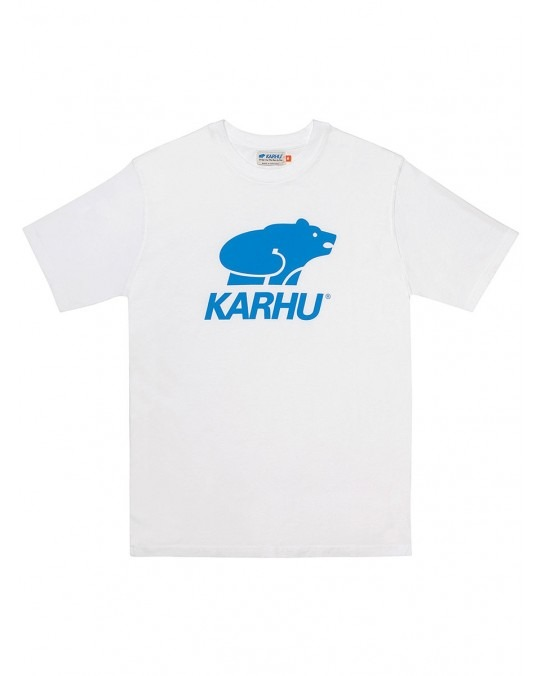 Karhu Basic Logo T-Shirt - White Royal