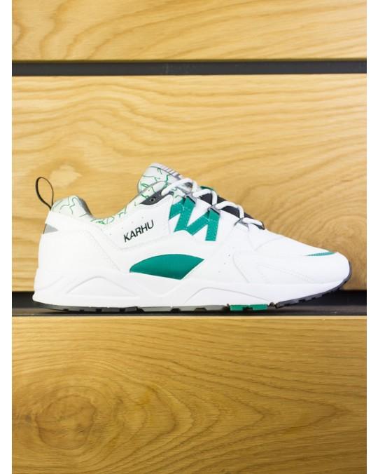 Karhu Fusion 2.0 OG - White Ultramarine Green