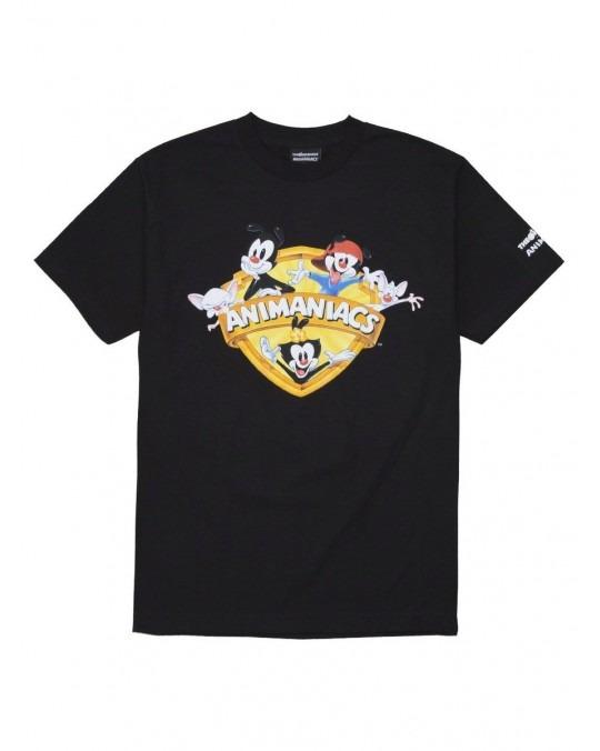 The Hundreds x Animaniacs Shield T-Shirt - Black