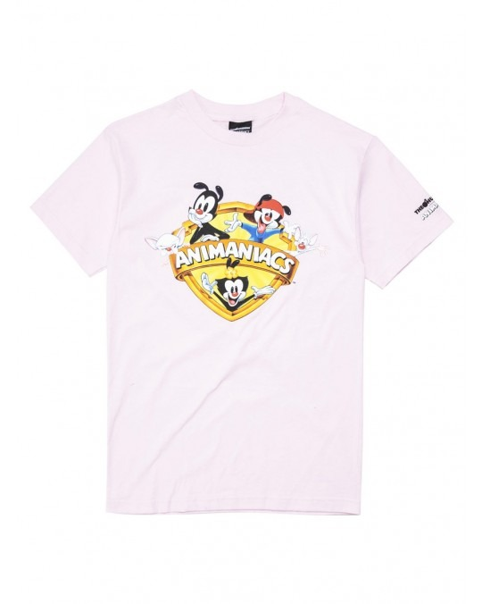 The Hundreds x Animaniacs Shield T-Shirt - Pink