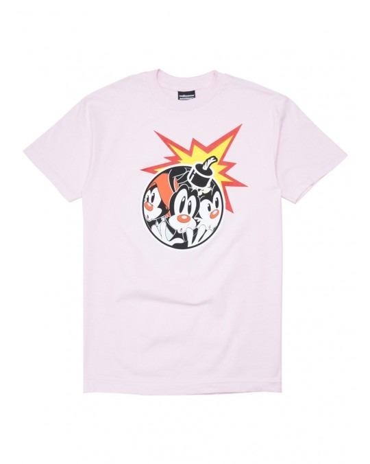 The Hundreds x Animaniacs Ani Adam Bomb T-Shirt - Pink