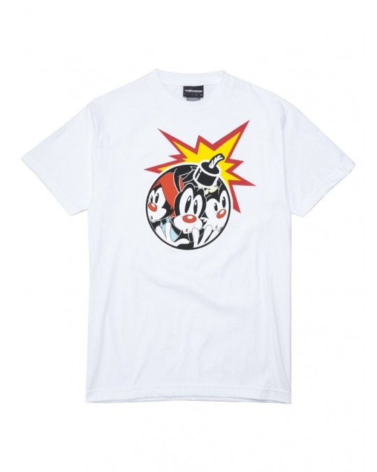 The Hundreds x Animaniacs Ani Adam Bomb T-Shirt - White