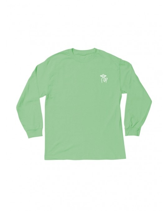 The Quiet Life Shhh L/S T-Shirt - Mint