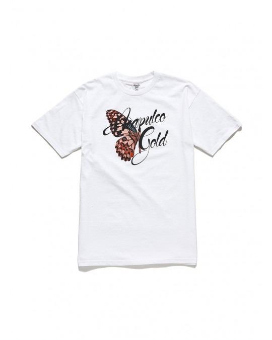 Acapulco Gold Mariposa T-Shirt - White