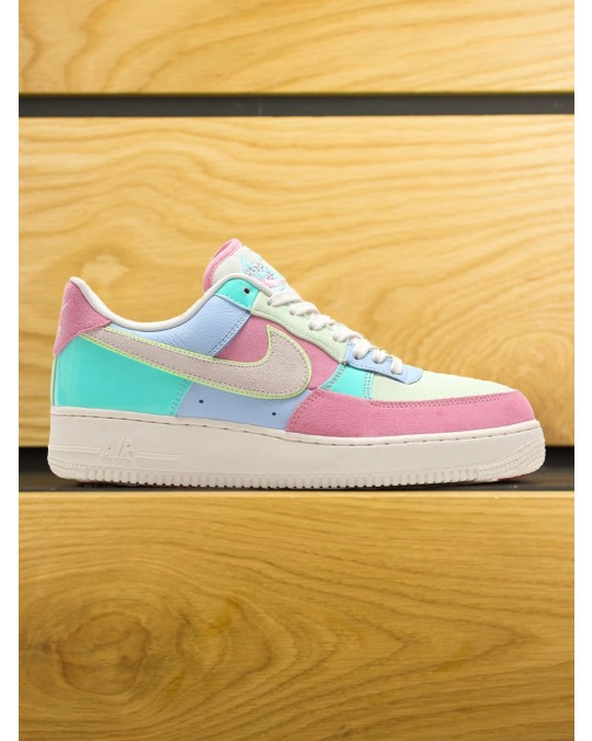 Nike Air Force 1 '07 QS Patchwork - Ice Blue Sail Hyper Turq