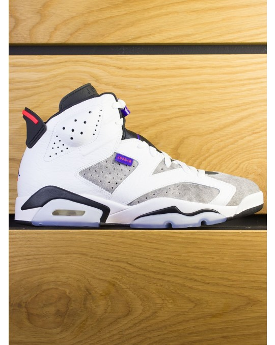 "Nike Air Jordan 6 Retro ""Flint"" - White Concord Black"