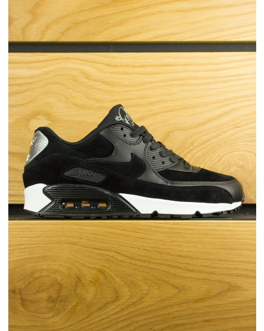 Nike Air Max 90 Premium 'Rebel Skull' - Black Off White