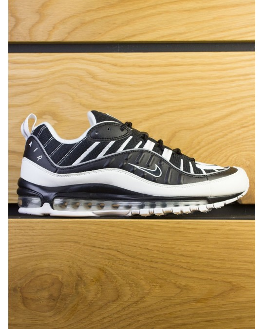 Nike Air Max 98 - Black White Reflect Silver