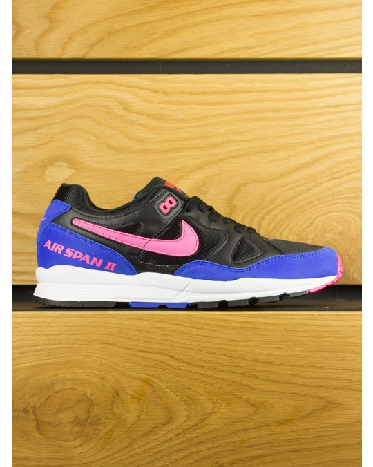 Nike Air Span II - Black Hyper Pink Hyper Royal