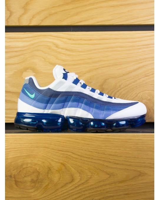 """Nike Air Vapormax 95 """"OG"""" - White New Green French Blue"""
