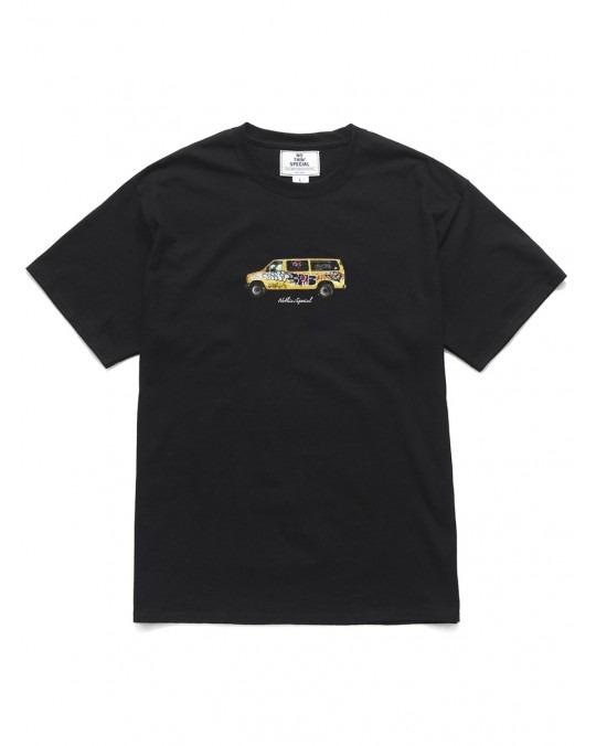 Nothin' Special Graffitied Van T-Shirt - Black