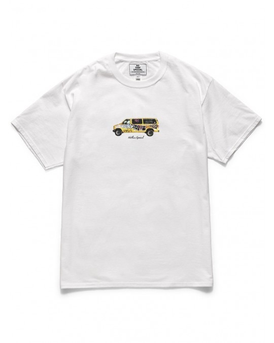 Nothin' Special Graffitied Van T-Shirt - White