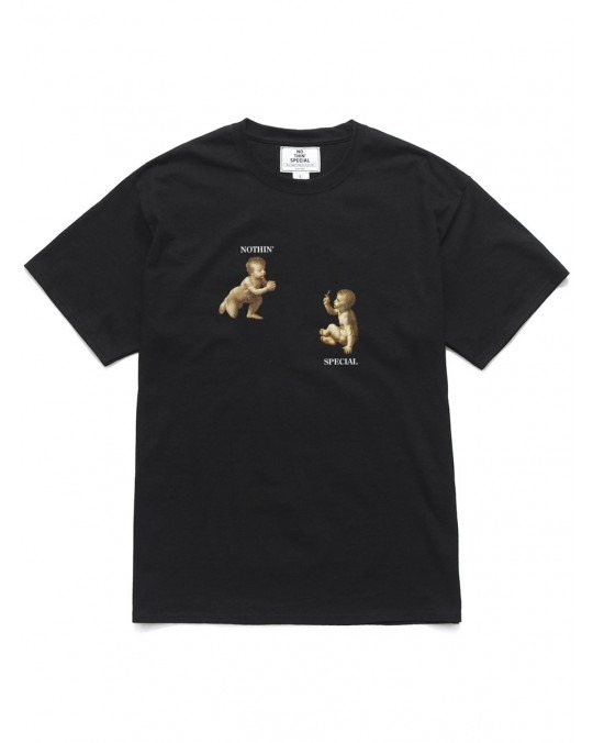 Nothin' Special Puff & Pass T-Shirt - Black