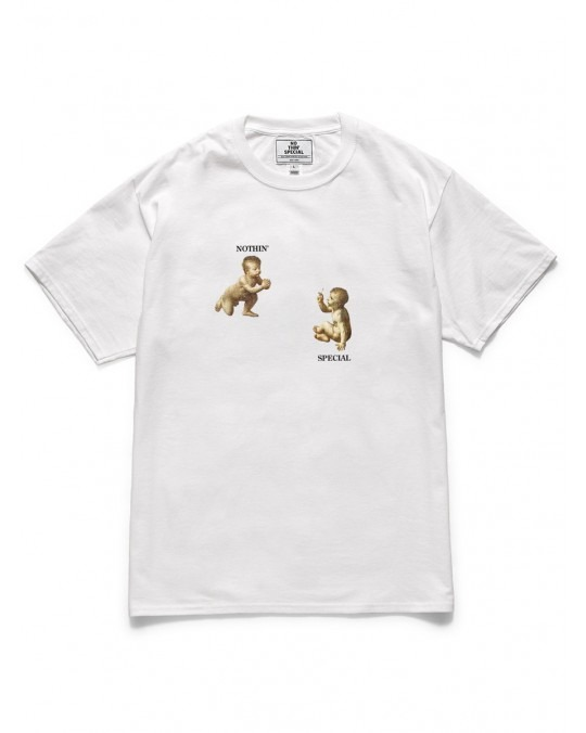Nothin' Special Puff & Pass T-Shirt - White