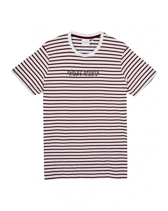 Parlez Bradley T-Shirt - Red Stripe