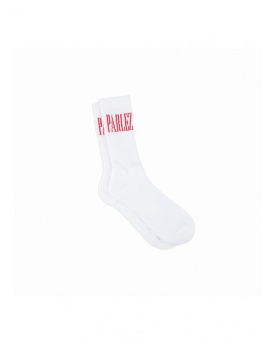Parlez Edition Socks - White Red
