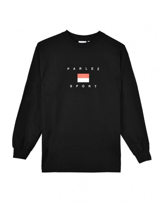 Parlez H Block L/S T-Shirt - Black