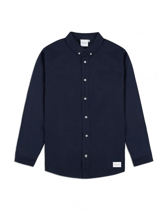 Parlez Sloop L/S Shirt - Navy