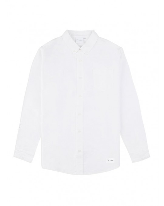Parlez Sloop L/S Shirt - White