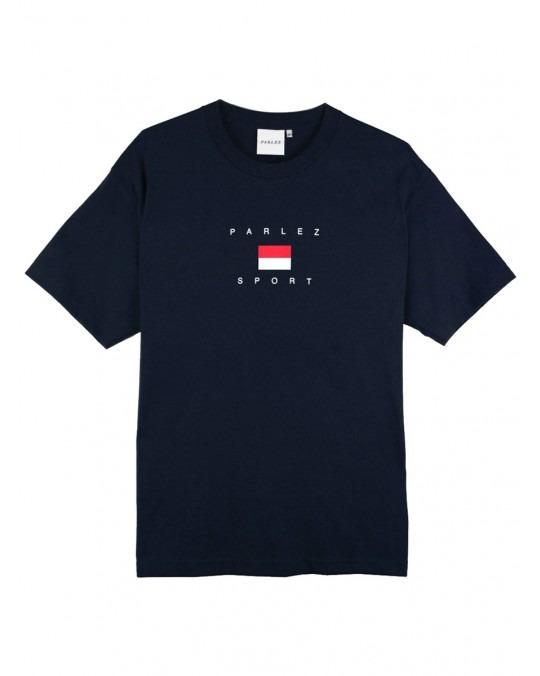 Parlez H Block T-Shirt - Navy