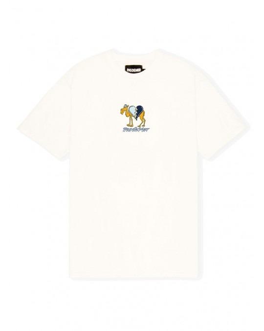 Pas De Mer Camel T-Shirt - Natural