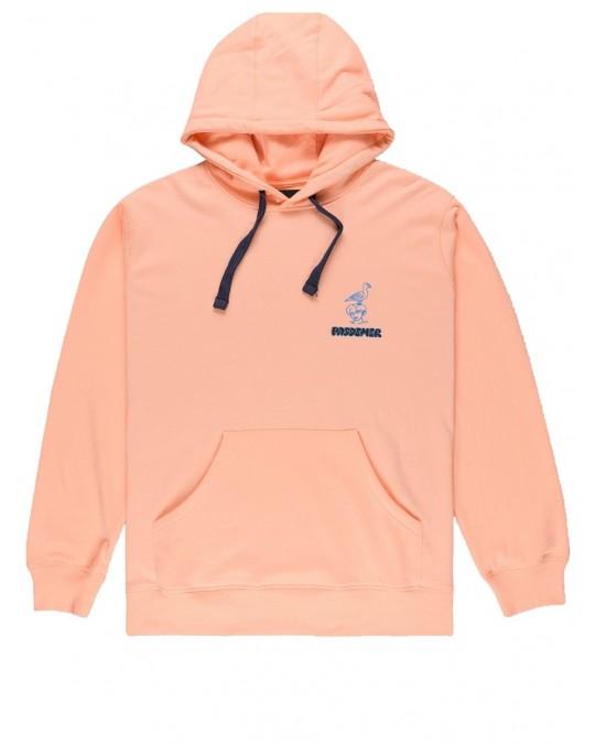 Pas De Mer Fountain Pullover Hoody - Peach