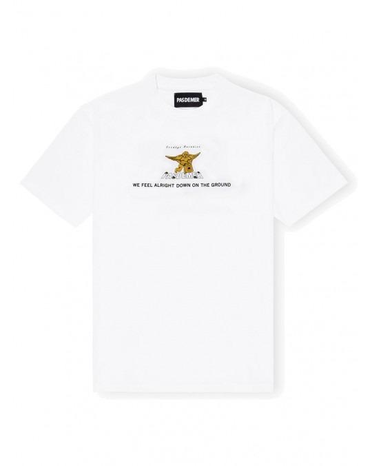Pas De Mer Goodbye Paradise T-Shirt - White